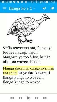 Le guinea fowl and the chicken. screenshot 1