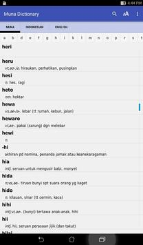 Muna dictionary apk screenshot
