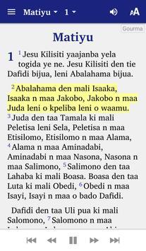 Bible Gourma screenshot 2