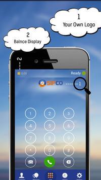 SipCo SoftPhone apk screenshot
