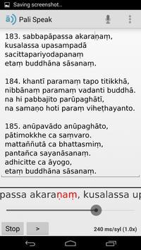 Pali Speak apk screenshot