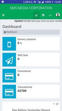 SMS MEDIA App screenshot 2