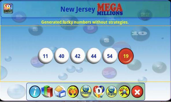 mLottoLuck Lotto Lottery LITE apk screenshot