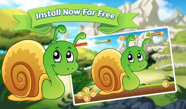 Snail Bob Banana Adventure screenshot 5