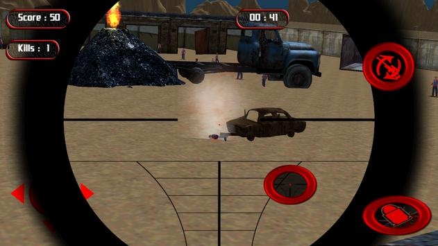 Sniper Zombie Shooter apk screenshot