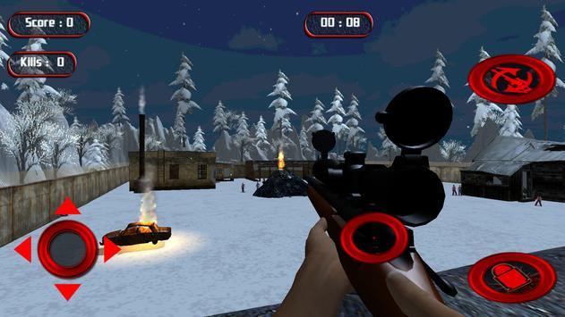 Contract Sniper Zombie Kill apk screenshot