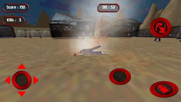Sniper Assasin Zombie Shoot apk screenshot