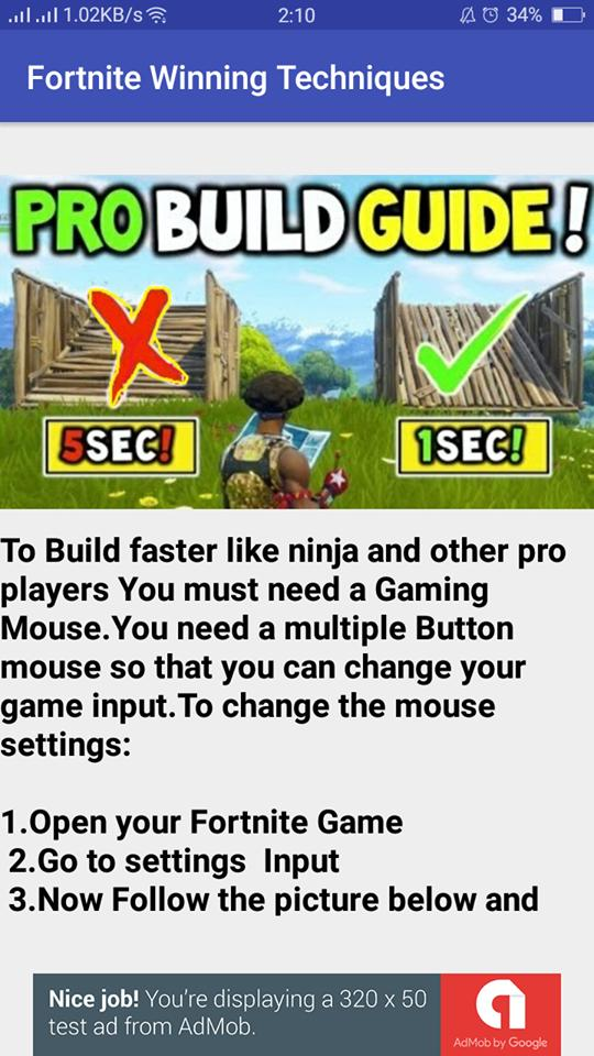 Fortnite Awesome Winning Techniques for Android - APK Download