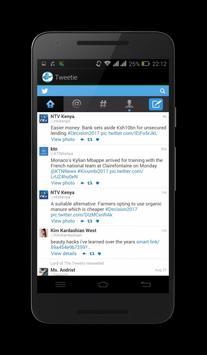 Tweetie screenshot 2
