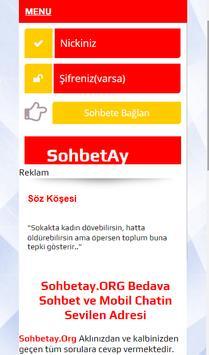 Sohbet Ay Arkadaşlık, Sohbet, Chat poster