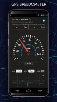 GPS Speedometer and Odometer NEW poster