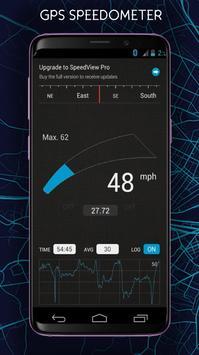GPS Speedometer and Odometer NEW screenshot 1