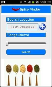 Spice Finder screenshot 1