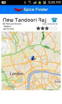 Spice Finder screenshot 2