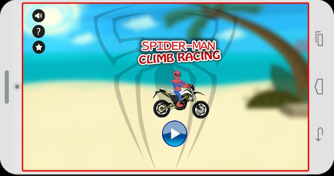Spider Bike Climb Racing poster