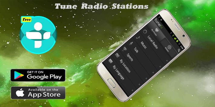 Free Tune in Radio and nfl- Radio tunein poster