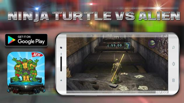 Shadow Turtles Hero Ninja vs Super Alien poster