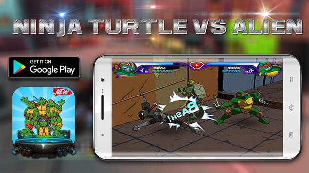 Shadow Turtles Hero Ninja vs Super Alien apk screenshot