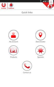 bmobile-Vodafone SI apk screenshot