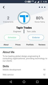 Tapin Trades, Promote Yourself poster