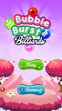 Bubble Burst Billiards poster