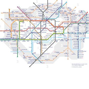 London (UK) Rail Tube metro and bus route map APK Download - Free ...