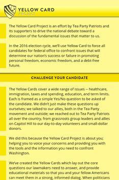 Yellow Card Project apk screenshot