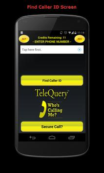 Who's Calling Me? Caller ID poster