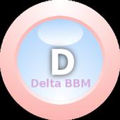 Delta BBM* Tema Cute icon
