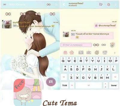 Delta BBM* Tema Cute poster