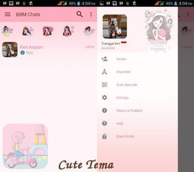 Delta BBM* Tema Cute apk screenshot