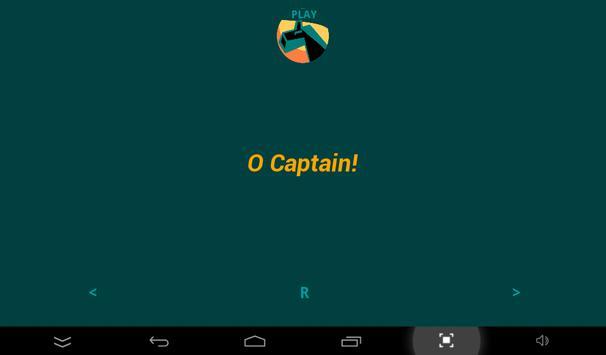 O Captain words apk screenshot