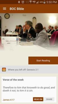 BOC Bible apk screenshot