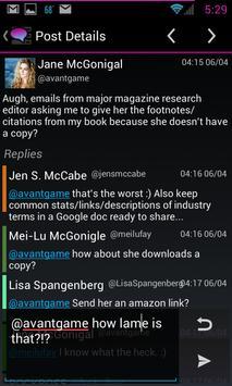 Porch social widget apk screenshot