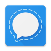 Signal Private Messenger أيقونة