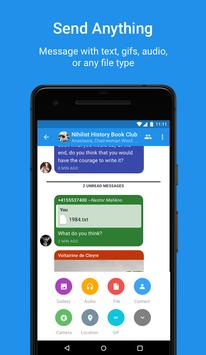 Signal Private Messenger apk تصوير الشاشة