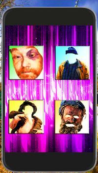 Homeless Face Stylish Joke apk screenshot