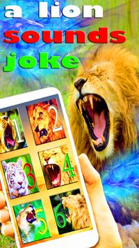 Sounds Of Lion and Tiger Joke poster