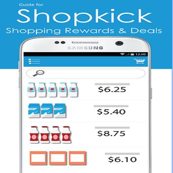 Free Shopkick Save Money guide poster