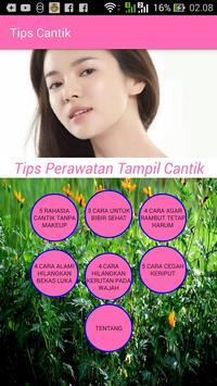 Tips Cantik~ poster
