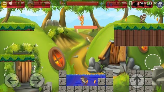 Tom Jump Jerry Run Game screenshot 4