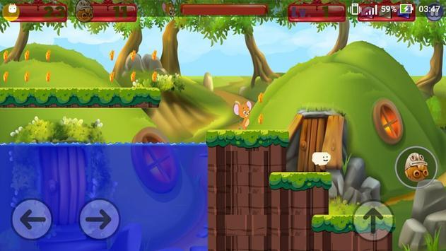 Tom Jump Jerry Run Game screenshot 1