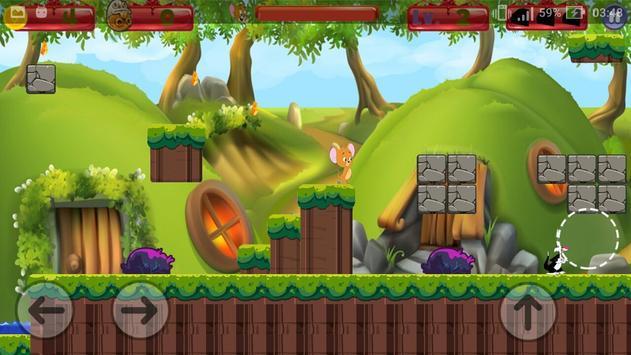 Tom Jump Jerry Run Game screenshot 3