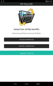 RTF File to PDF screenshot 16