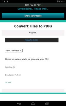 RTF File to PDF screenshot 19