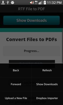 RTF File to PDF screenshot 6