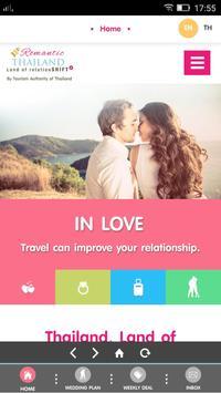 Romantic Thailand poster