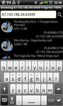 Gnutella client for Android screenshot 4