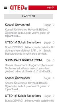 UTED screenshot 2