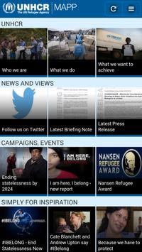 UNHCR MAPP apk screenshot